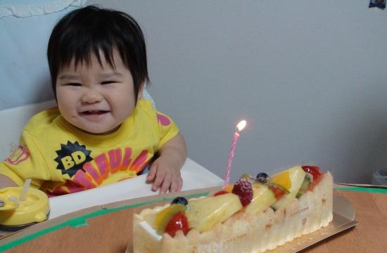 じぃじばぁばからもケーキもらいましたよ
