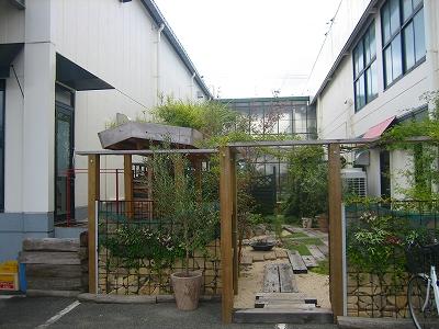 展示館横ガーデン