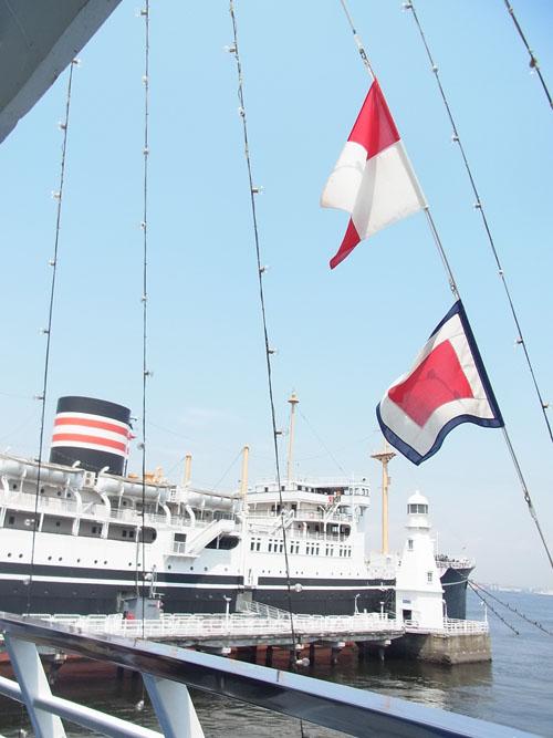 横浜 信号旗
