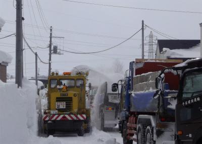 団地内の除排雪