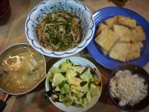 2012.02.02晩ご飯