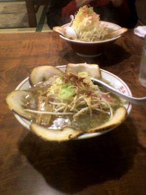 らーめん千屋 チャーシュー麺¥780