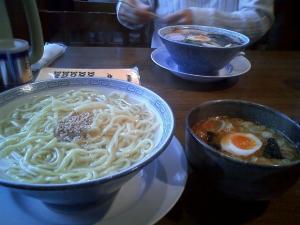 孔明 付け麺