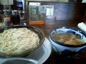 大舎厘 つけ麺¥700