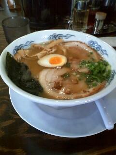麺や大舎厘(ラーメン¥630)