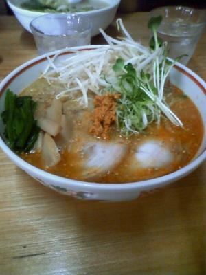 丸木屋「うま辛麺」¥750