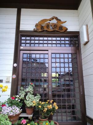 あさひ楼玄関