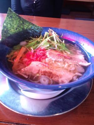 空「空麺」(塩)¥730