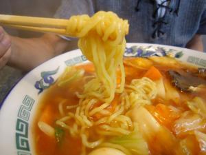 辛口五目 太麺