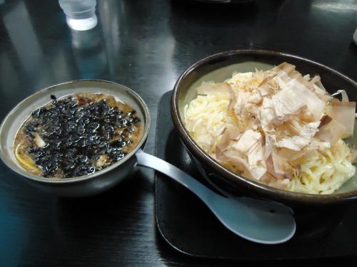 麺職 夷霧来 鰹付け麺 ¥730