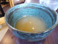 付け麺 割りスープ