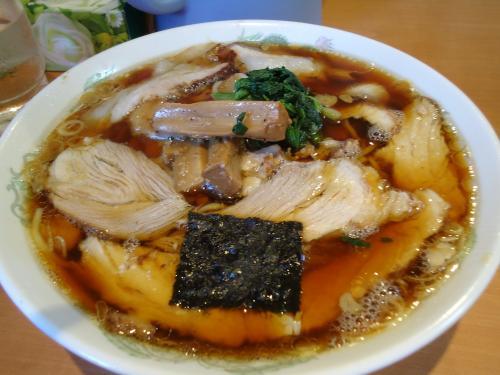 醤油 チャーシュー ¥750