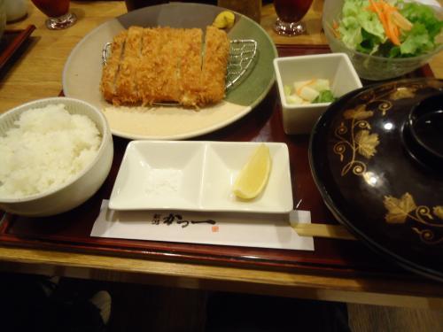 かつ一 ふわぁとろかつ定食  ¥1380