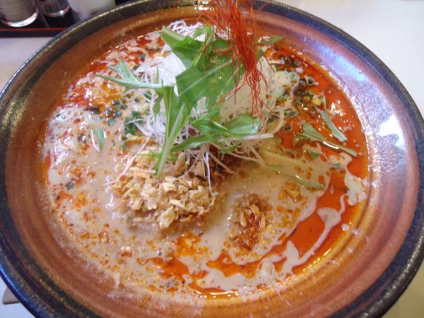 笑美寿亭「赤坦々麺」¥880