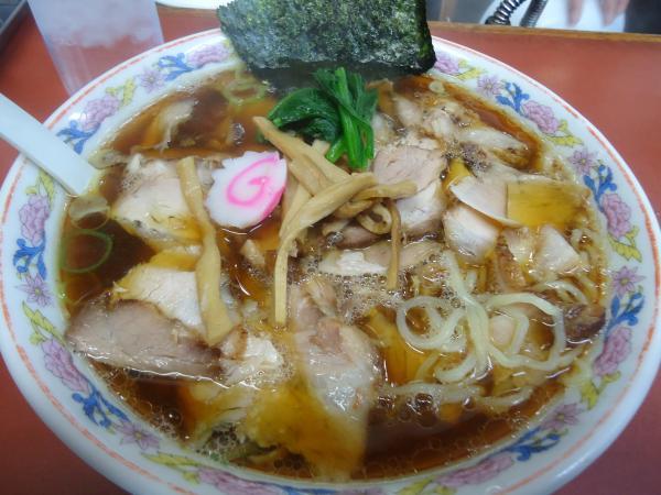 青島食堂 東掘店 青島チャーシュー大盛り¥850