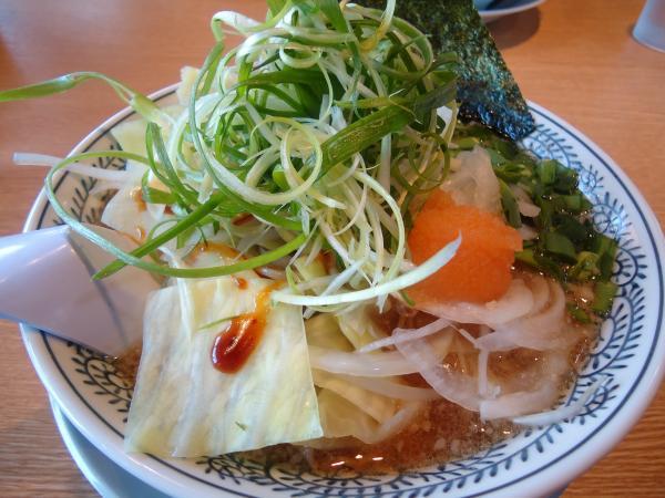 野菜肉そば¥780(税込¥819)