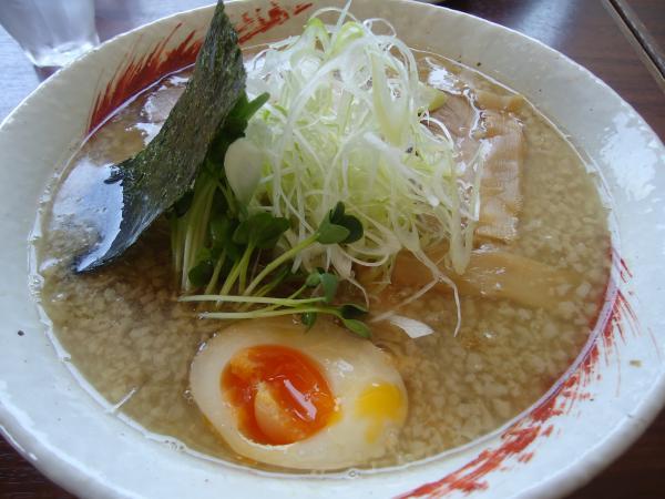 ようか「煮干し中華」¥750