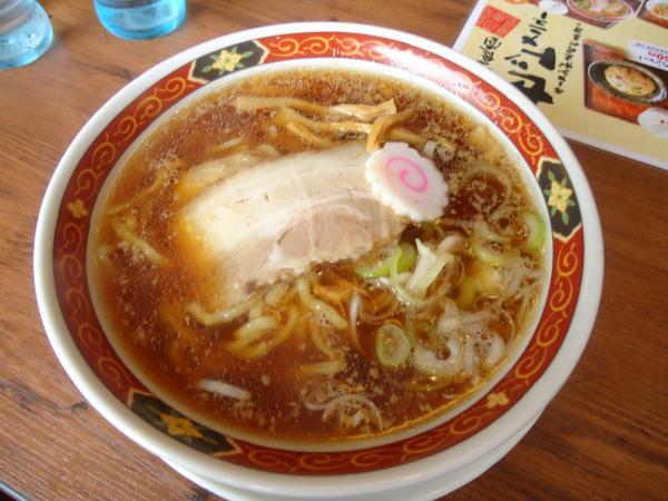 大安食堂「ラーメン」¥580