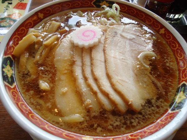 大安食堂「チャーシューメン」¥790