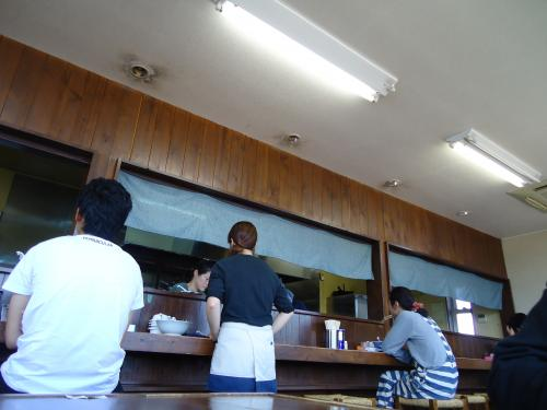 碧空麺舗 店内