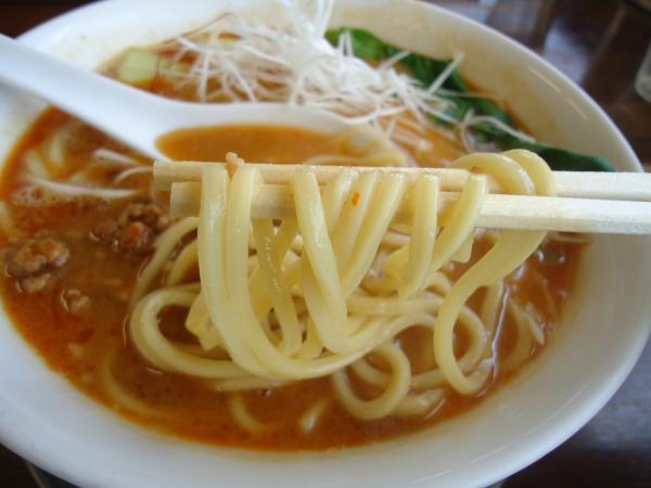 めんぽ担々 麺アップ