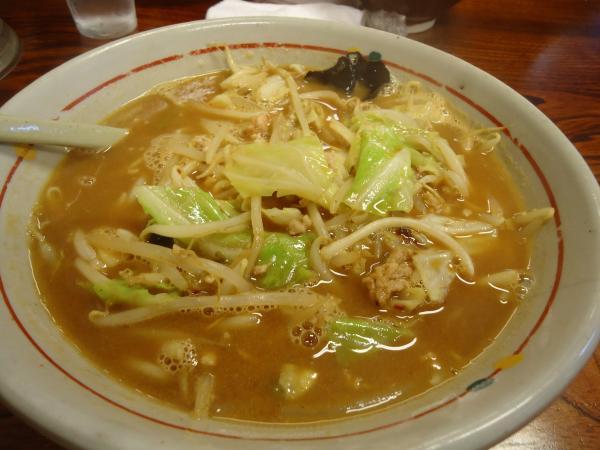 野菜とんこつ味噌ラーメン¥714