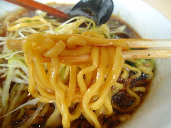 ブラック 麺アップ