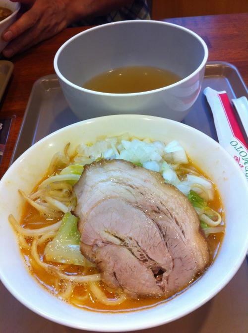新潟濃厚味噌系ラーメン¥780