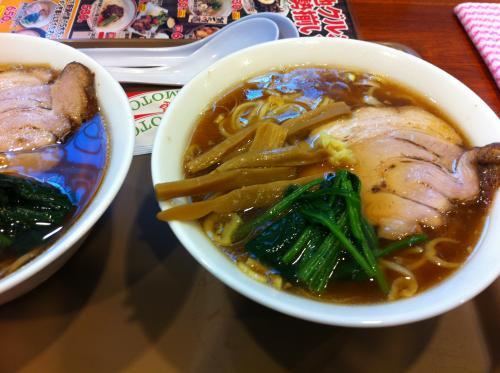 長岡生姜醤油ラーメン¥650