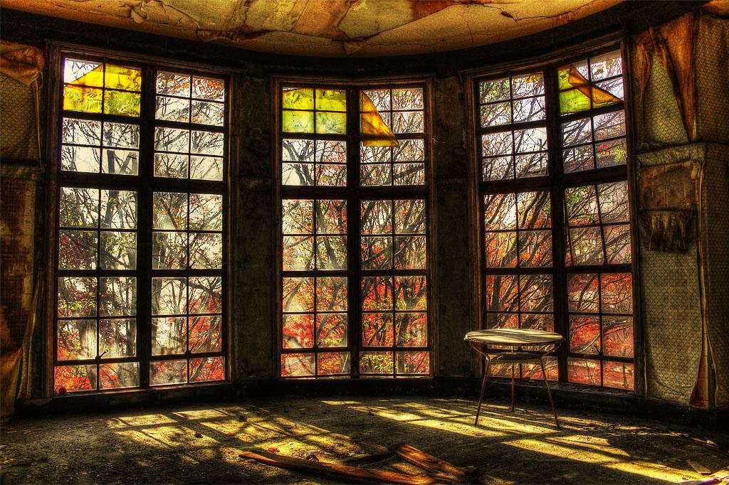 摩耶観光ホテル 紅葉のテラス