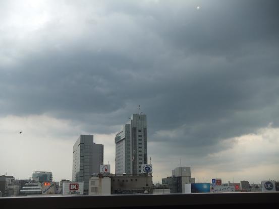 雨雲?モクモク