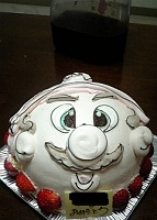 ケーキ:マリオ