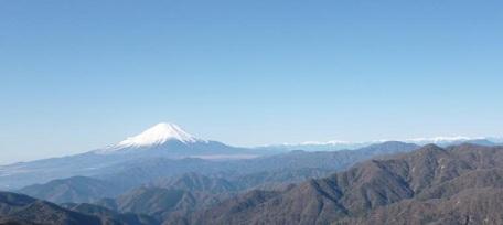 塔ノ岳から富士山南20121216