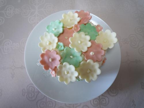 お花畑ケーキ3