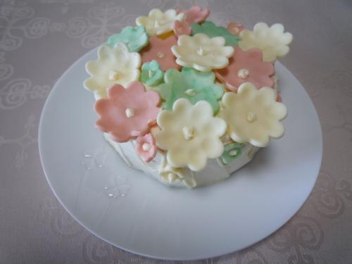 お花畑ケーキ2