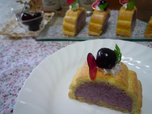 チェリームースケーキa
