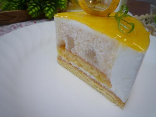 レモンライムヨーグルトケーキd