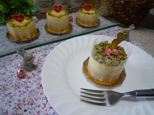 レモンと紅茶のケーキc