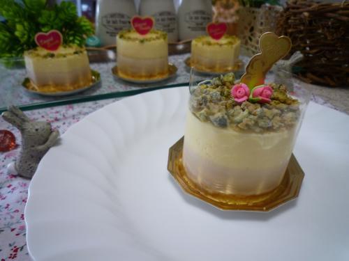 レモンと紅茶のケーキa