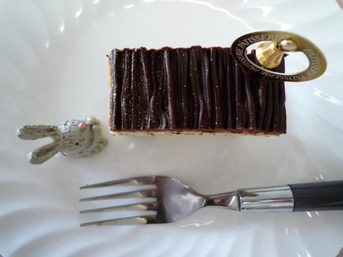 チョコレートケーキd