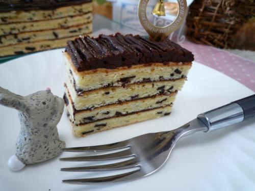 チョコレートケーキc