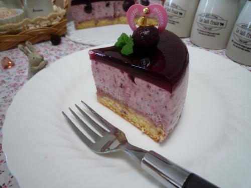 チェリームースケーキc