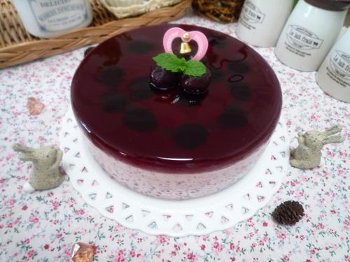 チェリームースケーキb