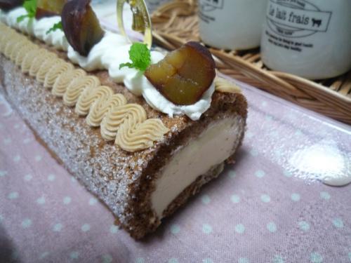 マロンケーキc