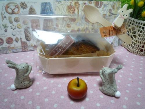 キャラメルリンゴのパウンドケイクg