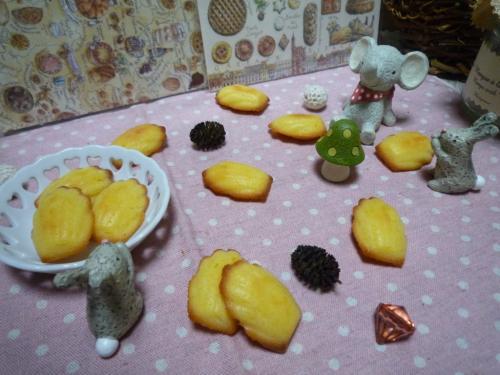 グレープフルーツマドレーヌb