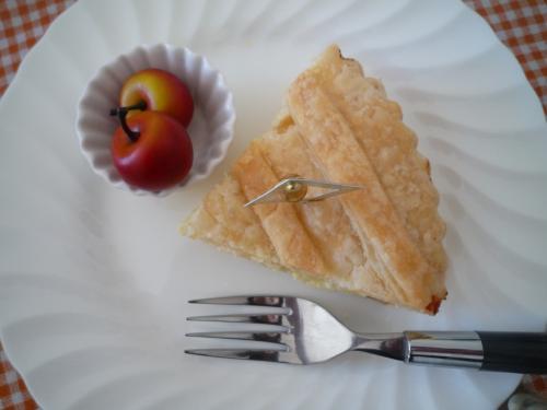りんごのチーズパイd