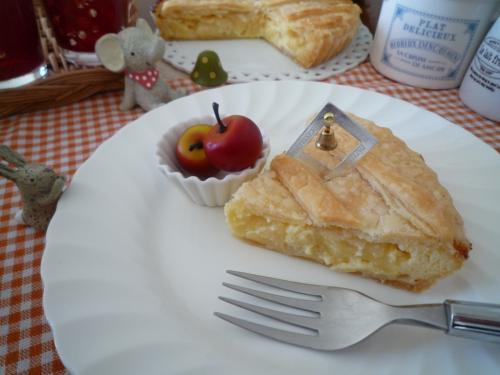 りんごのチーズパイc