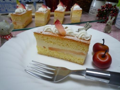 リンゴとワインババロアc1