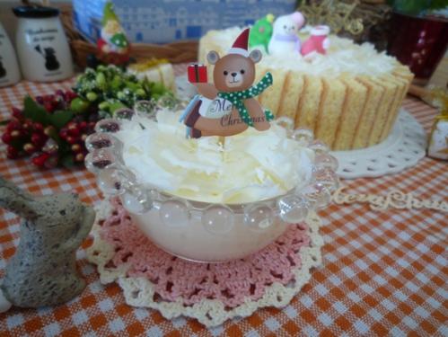 クリスマスケーキ試作d